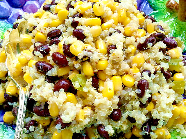 Quinoa Black Bean Corn Salad | Canned Time