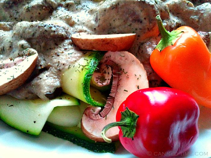 Virtual Vegan Potluck Mushroom Stroganoff with Zucchini ...