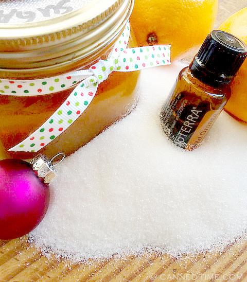 Spiced Wild Orange Sugar Body Scrub