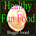 Healthy Fun Food Blogger Award Icon 125 X 125