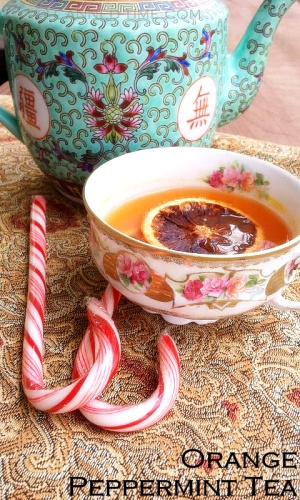 Peppermint Orange Tea