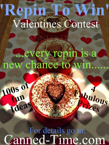 Canned Time's Valentines 'Repin to Win' Contest